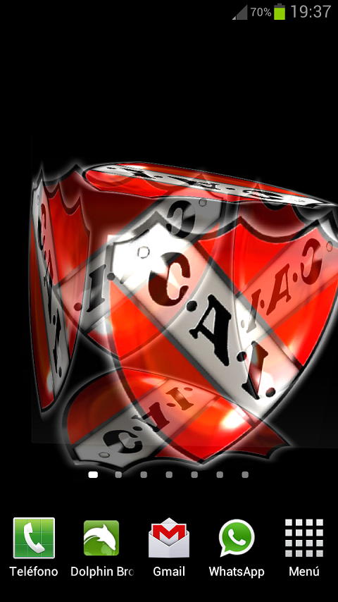 3D Independiente Wallpaper - screenshot