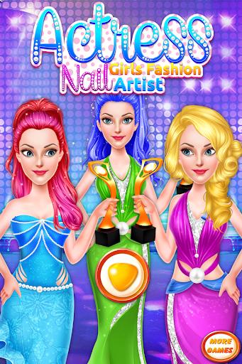 Actress Girls Fashion Nail Artist-Fanciful Designs 1.0.3 screenshots 1