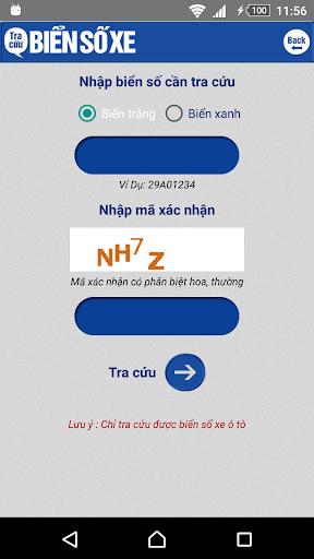 Tra cuu bien so xe - tra cuu phat nguoi screenshot