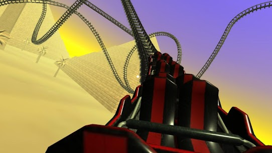 Egyptian Pyramids Virtual Reality Roller Coaster 3