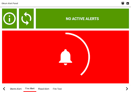 Otrum Alert Panel - náhled