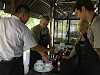 Indonesia. Bali Cooking Class. Preparing the crepes