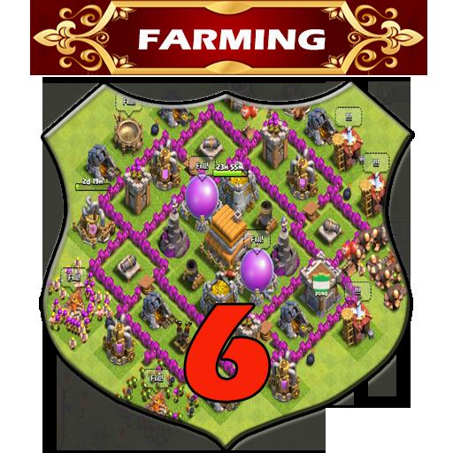 Town Hall 6 Farming Base Layouts