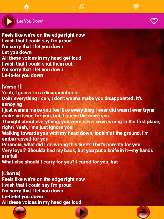 New NF Songs & Lyrics - Android Apps on Google Play