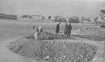 Photo: Alaybey  sahilinde deniz doldurma çalışmaları...