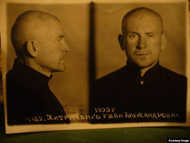 Иван Хитриченко побывал сотрудником НКВД, служащим охранной полиции, агентом СД, а также заключённым ГУЛАГА (на снимке)