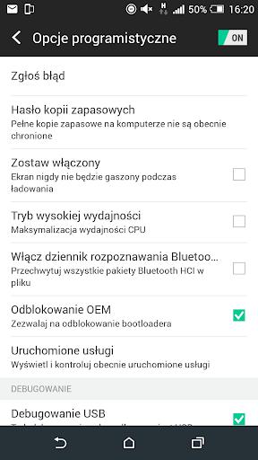 Developer Option  screenshots 1