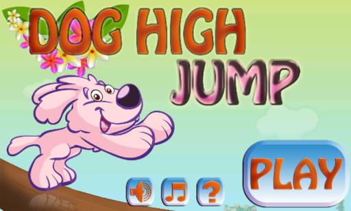 Dog High Jump