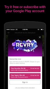 REVRY- screenshot thumbnail
