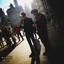 Photo: JFM and Ryan Tweeting in Chicago