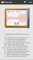 Screenshot of Vibration Meter