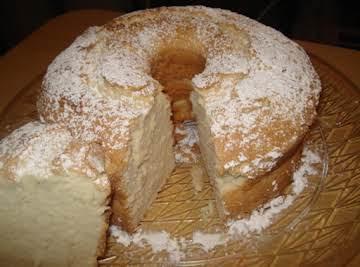 Sour Cream Pound Cake, Biscocho de Crema Agria