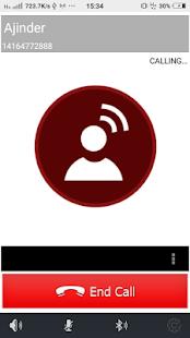 BigHug Voip App - náhled