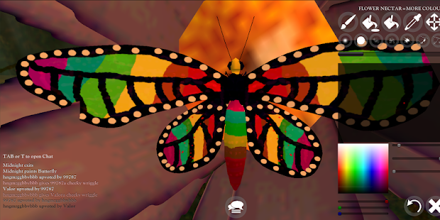 Butterfly Game - náhled