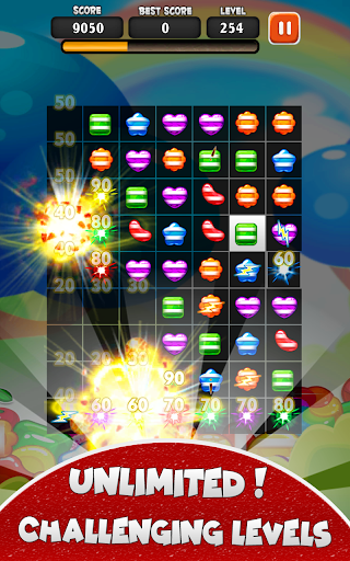 Crazy Candy Smash New Game 2020- Games 2020 android2mod screenshots 3