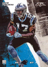 Photo: Devin Funchess 2015 Topps Fire RC