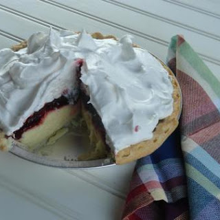Raspberry Cream Pie.