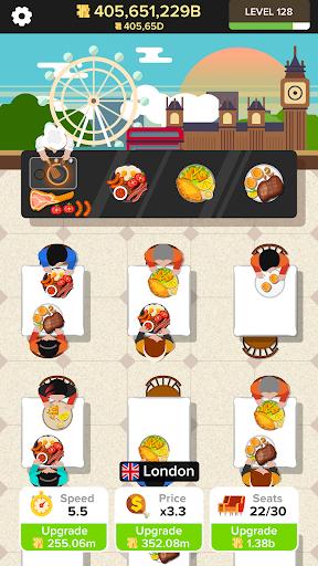Code Triche Idle Restaurant APK MOD screenshots 3