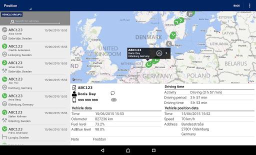 Scania Fleet Management- screenshot thumbnail