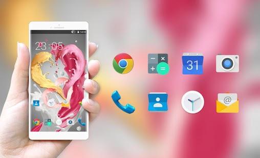 Love Heart Launcher Theme for Intex Aqua Y4 Ekran Görüntüsü