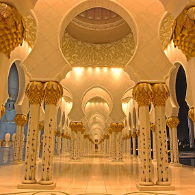 Infinite pillars by Rami Asaad - Buildings & Architecture Places of Worship