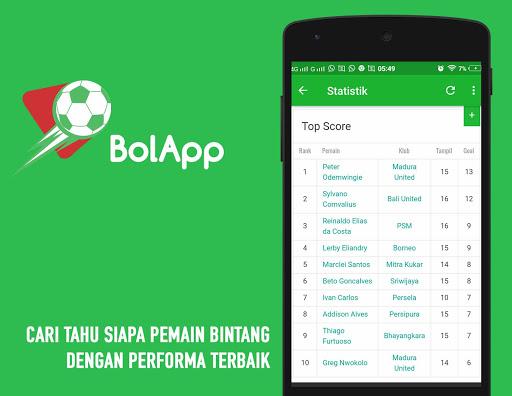BolApp - Liga Indonesia / Gojek Traveloka Liga 1 2.5 screenshots 4