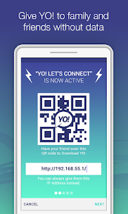 YO! - Chat & Share over WiFi- screenshot thumbnail