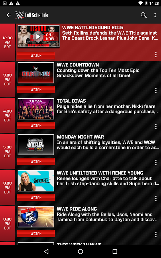 WWE- screenshot