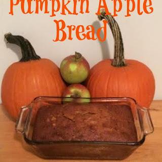 Pumpkin Apple Bread.