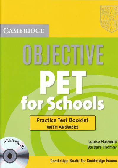 PDF+CD] Cambridge Objective PET for Schools Practice Test