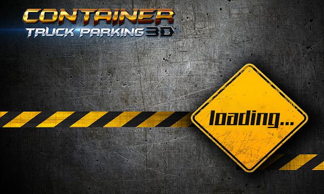 Container Truck Parking 3D - screenshot