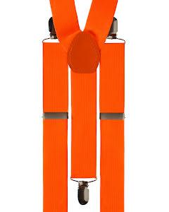 Hängslen, orangea
