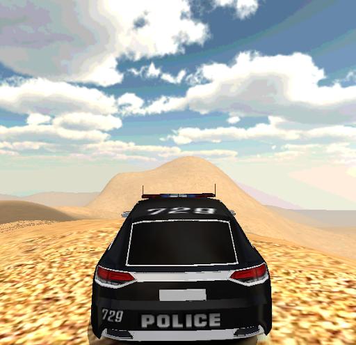 Arabic City Police Car 3D