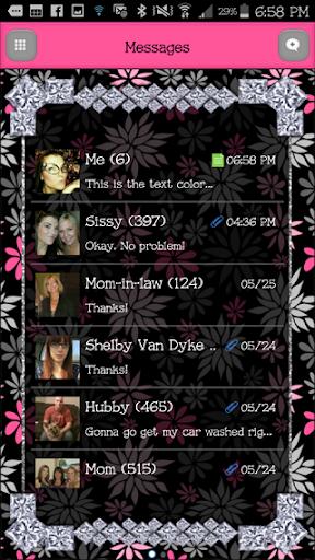 GO SMS - DivineDiamonds8