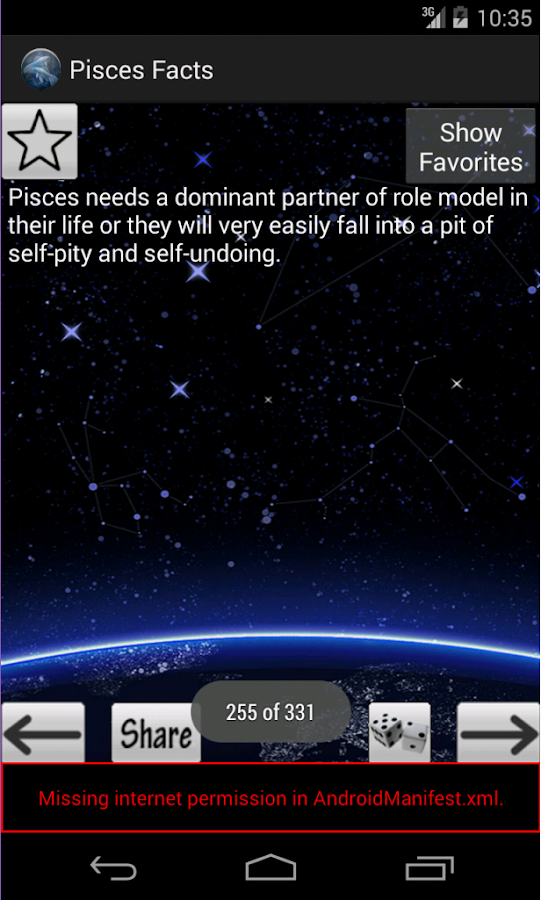 pisces facts android apps on play