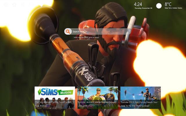 The Reaper Fortnite Skin HD Wallpapers