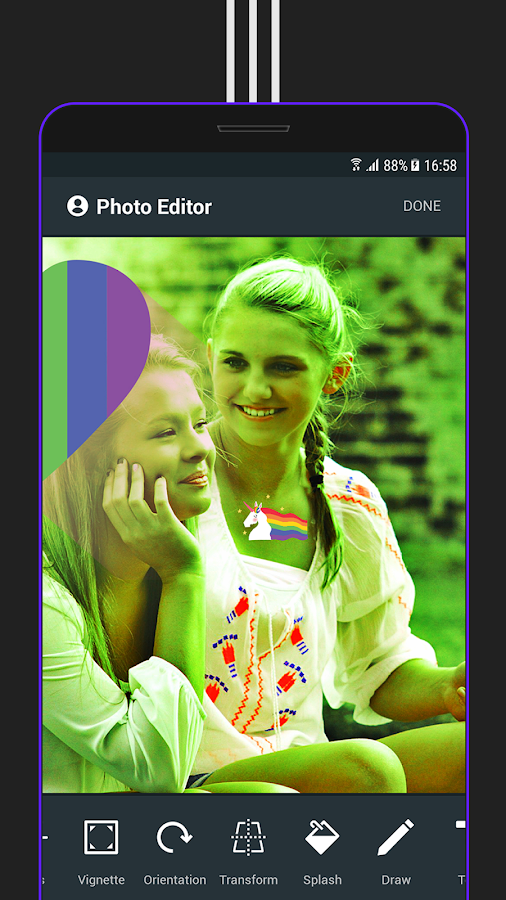Ner - Photo Editor, Pip, Square, Filters, Pro- screenshot