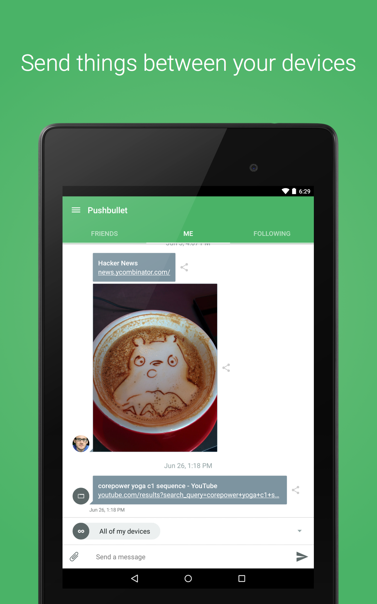 Pushbullet - SMS on PC screenshot #12