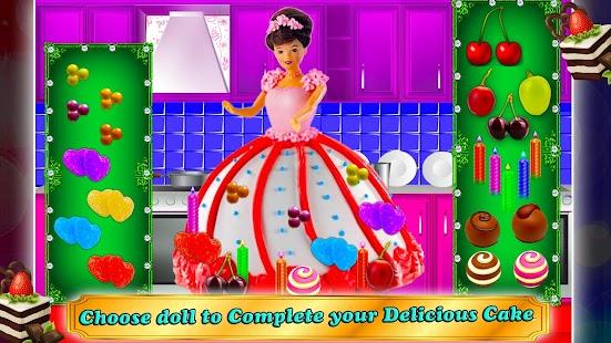 Doll Cake Maker Cooking Game - náhled