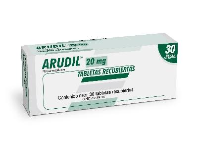 Rivaroxaban Arudil 20 mg x 30 Tabletas