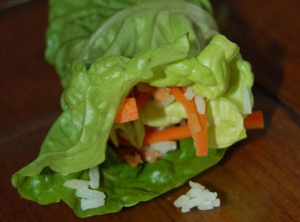 Sweet & Spicy Tuna Lettuce Wraps Recipe