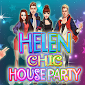 Helen Chic House Party - Dress up games for girls icon
