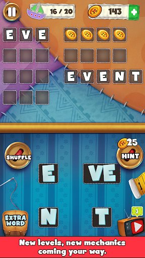 Patch Words - Word Puzzle Game - screenshot