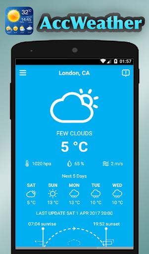 Weather Forecast & AccuWeather  screenshots 1