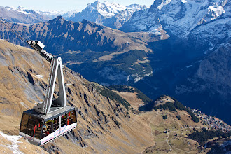 Photo: Schilthorn cable car, Switzerland