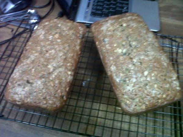 Great Hearty Zucchini Bread
