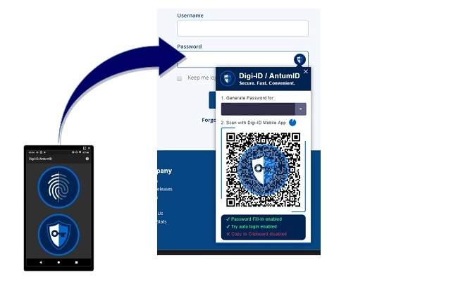 Digi-ID/AntumID DigiPassword Pro
