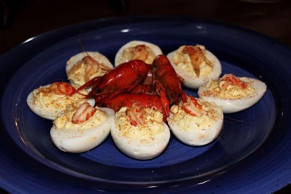Crawfish Deviled Eggs Recipe