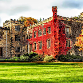 TOWNLEY HALL by Betty Taylor - Buildings & Architecture Public & Historical ( historical, autumn, building, architecture,  )