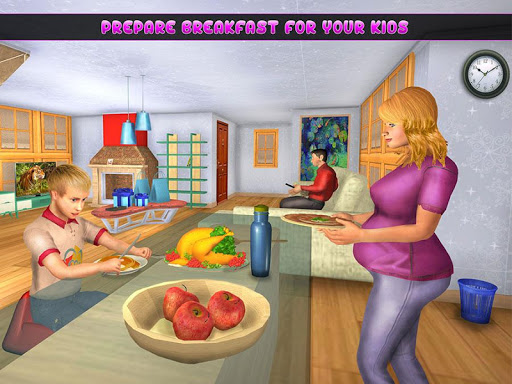 Pregnant Mom Baby Happy Home apkpoly screenshots 9